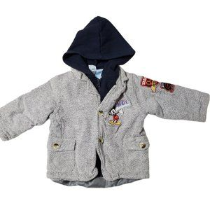 Disney Mickey Mouse Embroidered Toddler Jacket 18M